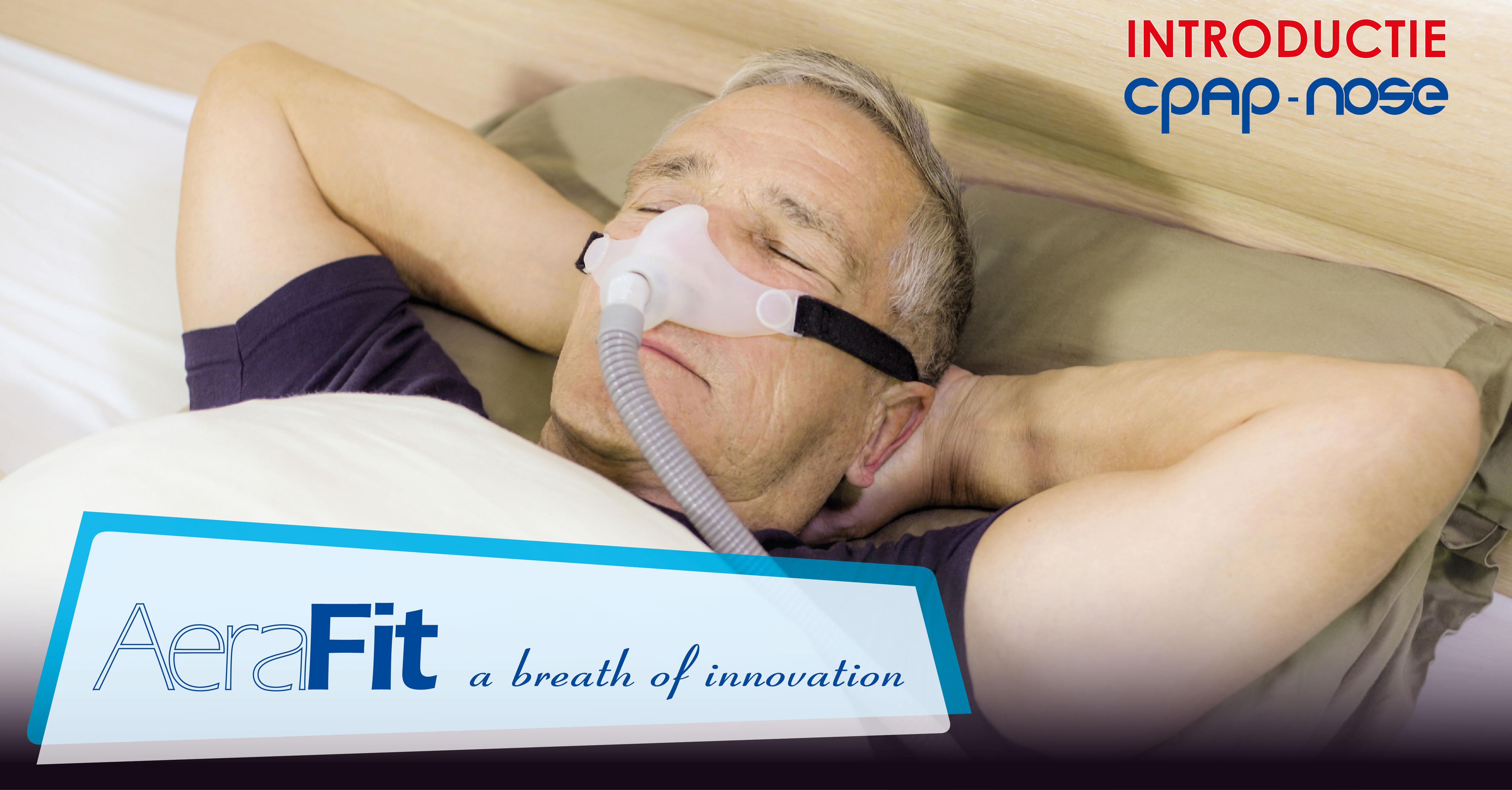Slaaptherapie, CPAP, 3D, Masker, Actie, Introductie, APNEU, apneuvereniging, osas, csas,